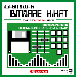 �h�����T���v�����OCD/BITWARE HIHAT Drum Sampling CD