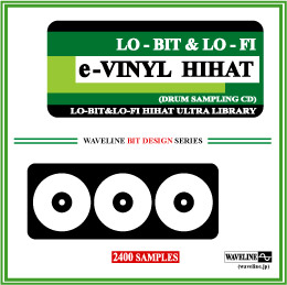 ドラムサンプリングCD/e-VINYL HIHAT Drum Sampling CD